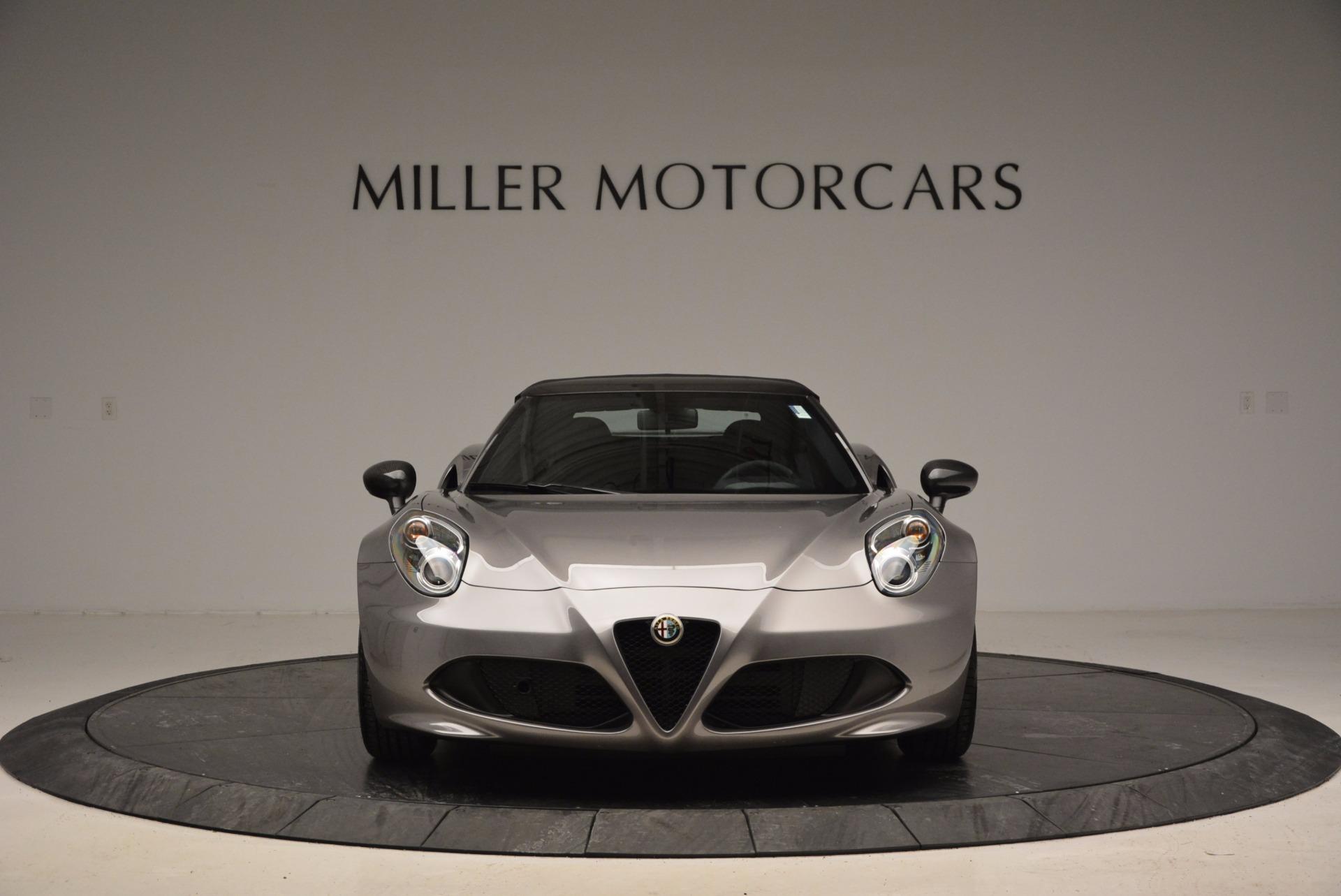 New 2016 Alfa Romeo 4C Spider | Greenwich, CT
