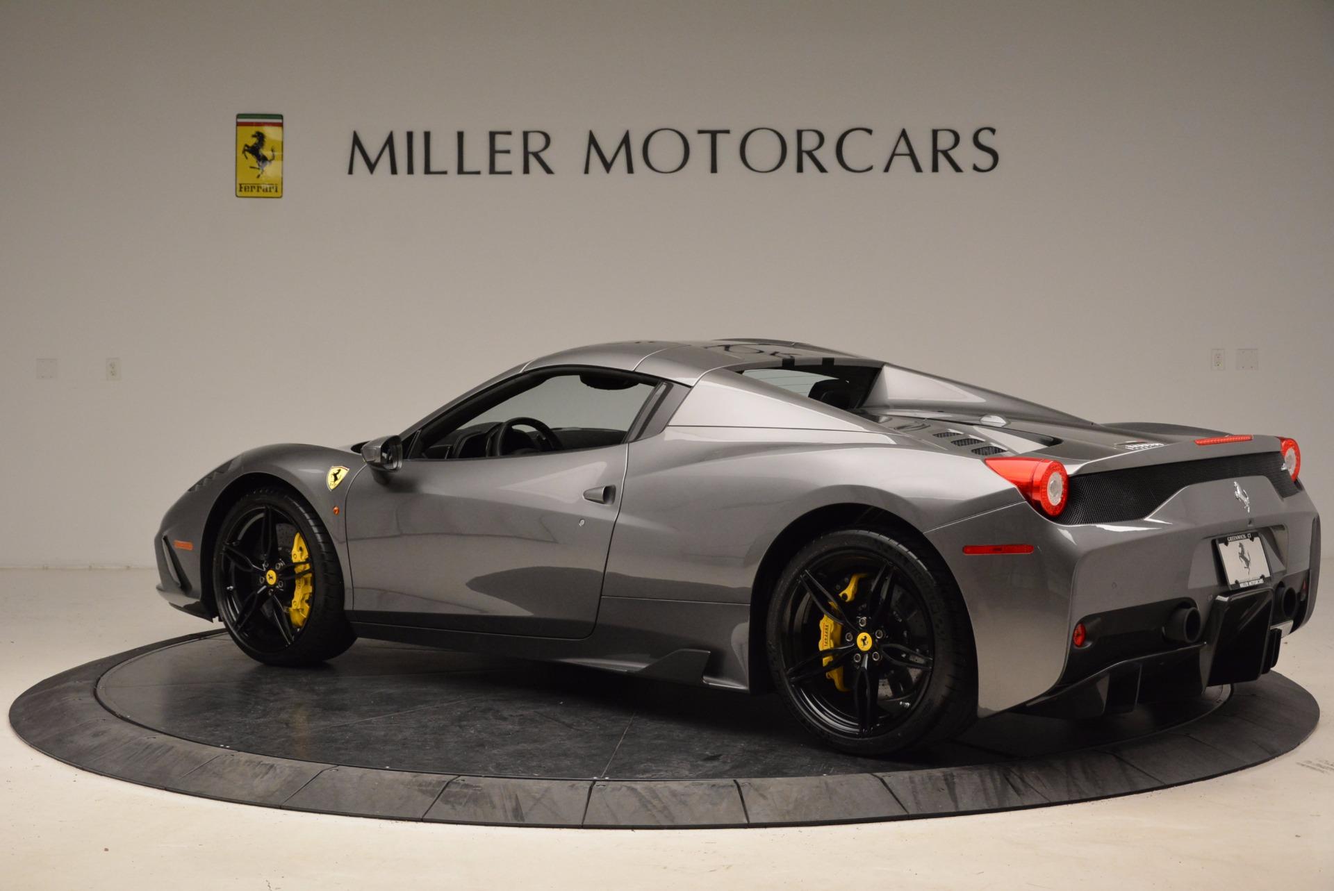 Used 2015 Ferrari 458 Speciale Aperta    Greenwich, CT