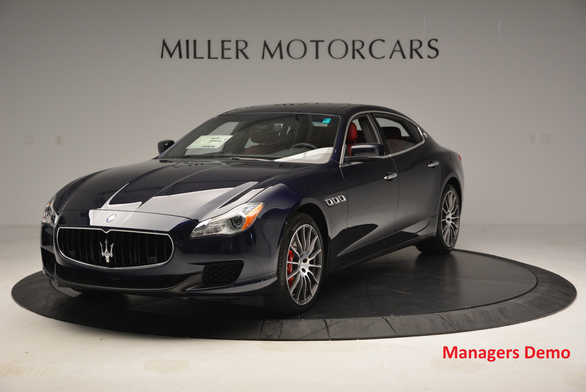 New 2016 Maserati Quattroporte S Q4  *******      DEALER'S  DEMO | Greenwich, CT