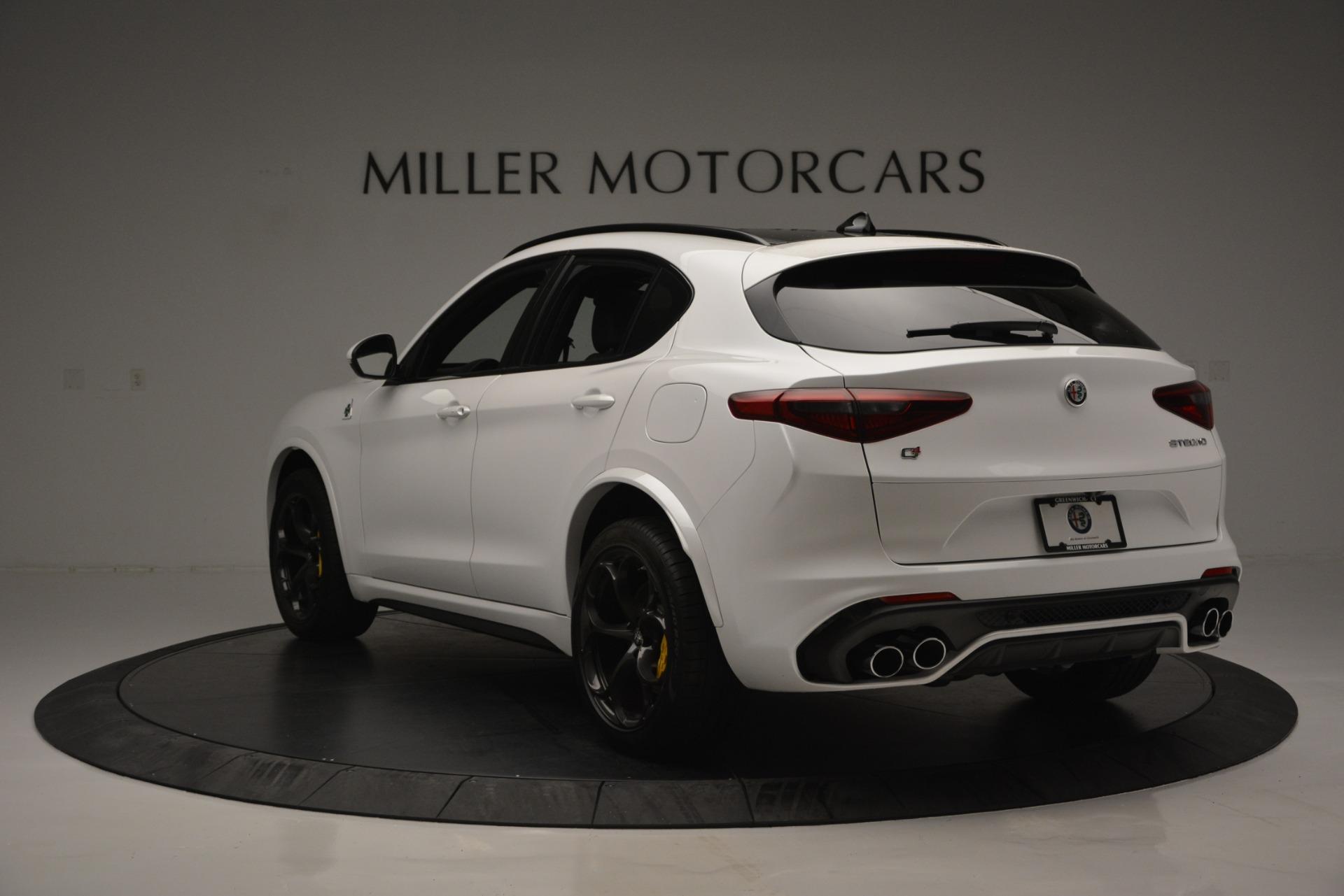 New 2018 Alfa Romeo Stelvio Quadrifoglio Quadrifoglio | Greenwich, CT