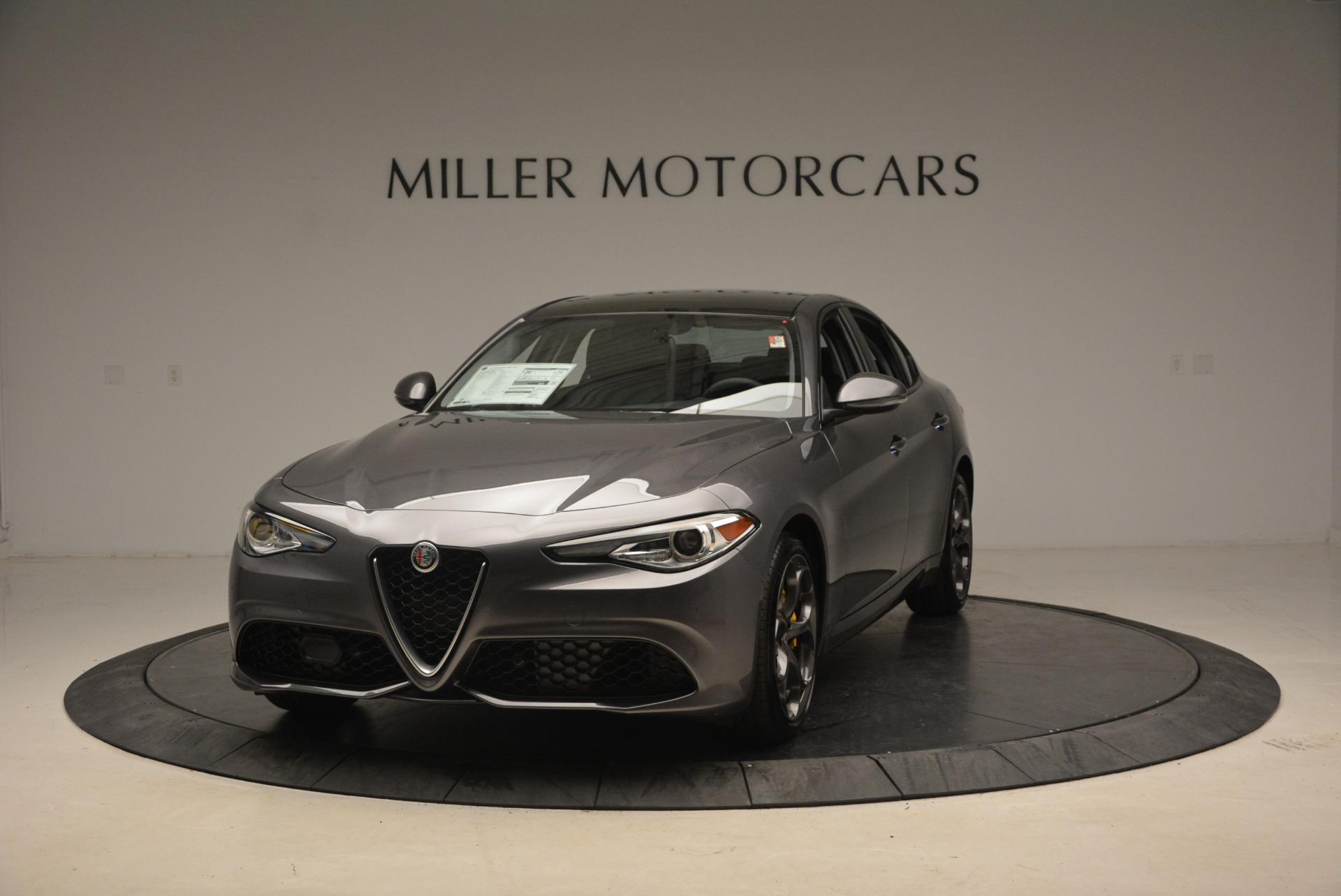 New 2019 Alfa Romeo Giulia Ti Sport Q4 | Greenwich, CT