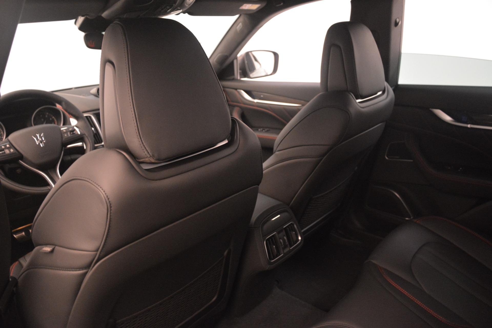 New 2019 Maserati Levante SQ4 GranSport Nerissimo | Greenwich, CT