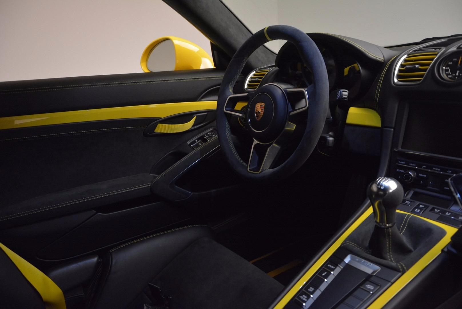 Used 2016 Porsche Cayman GT4 | Greenwich, CT