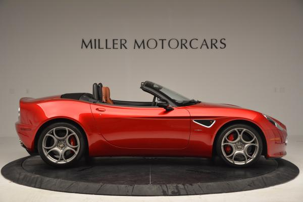 Used 2009 Alfa Romeo 8C Competizione Spider for sale $353,900 at Rolls-Royce Motor Cars Greenwich in Greenwich CT 06830 9