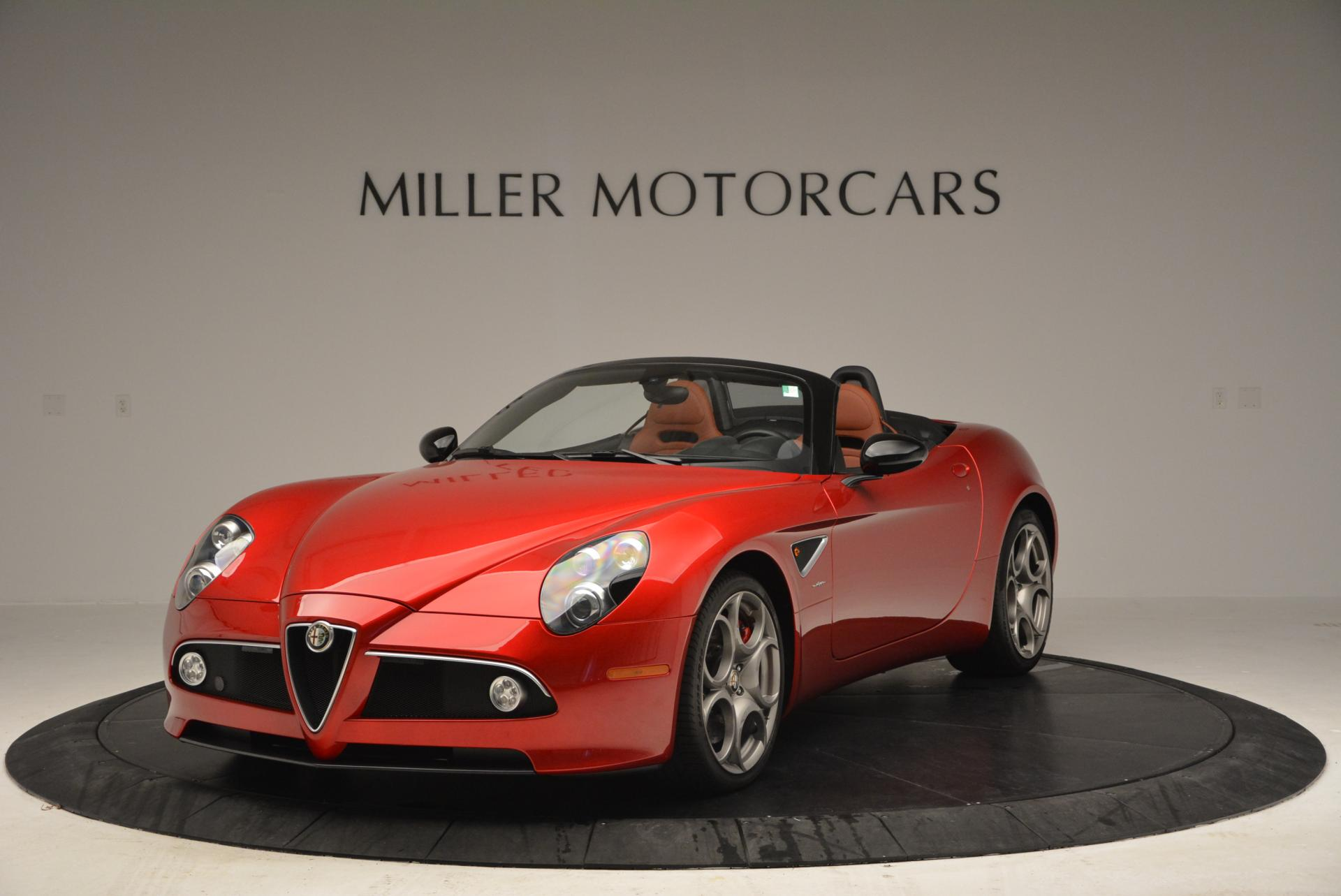 Used 2009 Alfa Romeo 8C Competizione Spider for sale $353,900 at Rolls-Royce Motor Cars Greenwich in Greenwich CT 06830 1