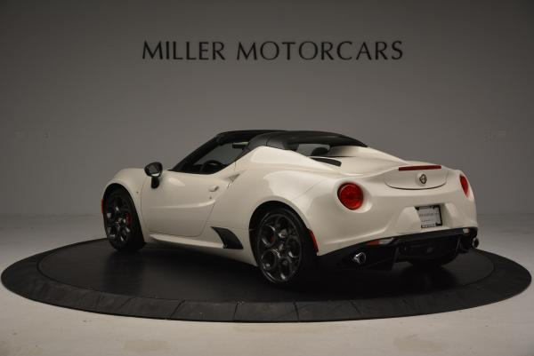 New 2015 Alfa Romeo 4C Spider for sale Sold at Rolls-Royce Motor Cars Greenwich in Greenwich CT 06830 5