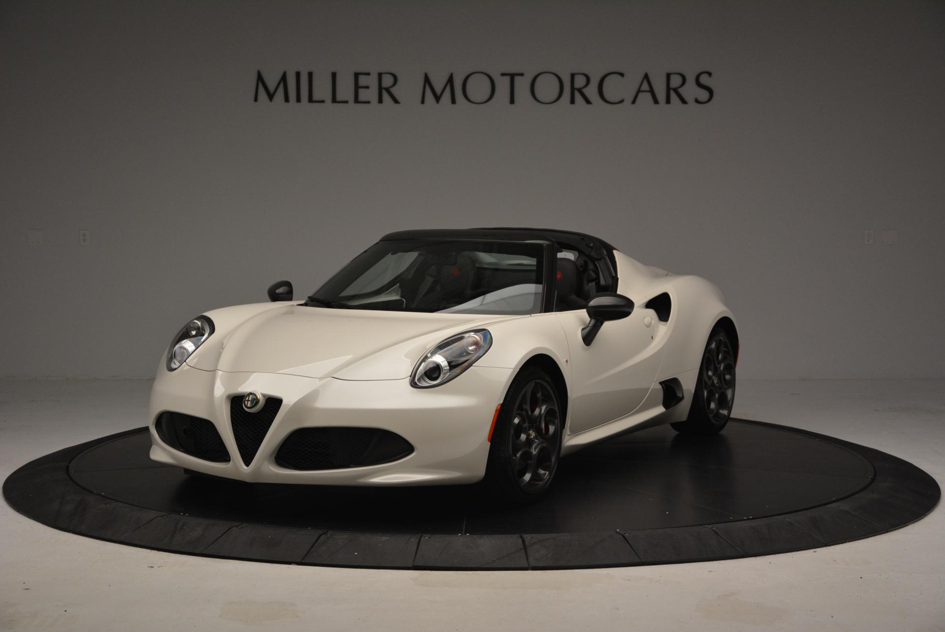 New 2015 Alfa Romeo 4C Spider for sale Sold at Rolls-Royce Motor Cars Greenwich in Greenwich CT 06830 1