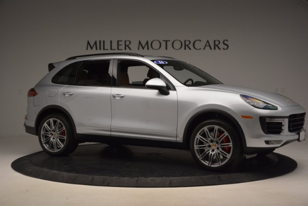 Used 2016 Porsche Cayenne Turbo for sale Sold at Rolls-Royce Motor Cars Greenwich in Greenwich CT 06830 10