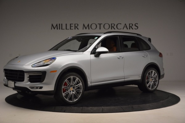 Used 2016 Porsche Cayenne Turbo for sale Sold at Rolls-Royce Motor Cars Greenwich in Greenwich CT 06830 2