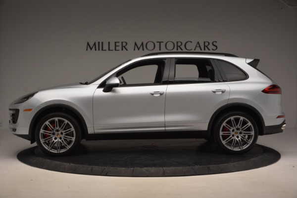 Used 2016 Porsche Cayenne Turbo for sale Sold at Rolls-Royce Motor Cars Greenwich in Greenwich CT 06830 3