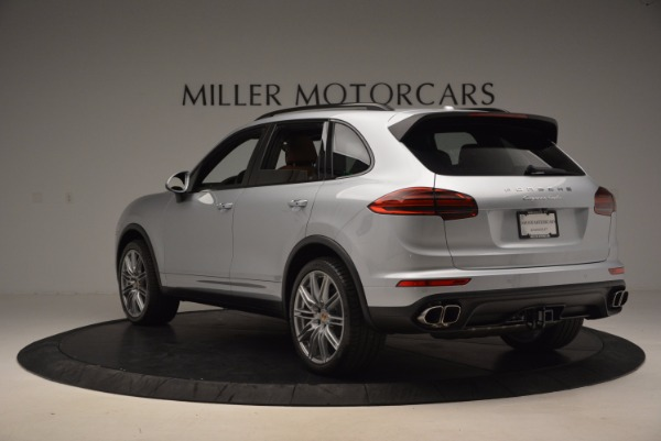 Used 2016 Porsche Cayenne Turbo for sale Sold at Rolls-Royce Motor Cars Greenwich in Greenwich CT 06830 5