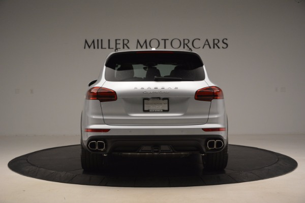 Used 2016 Porsche Cayenne Turbo for sale Sold at Rolls-Royce Motor Cars Greenwich in Greenwich CT 06830 6
