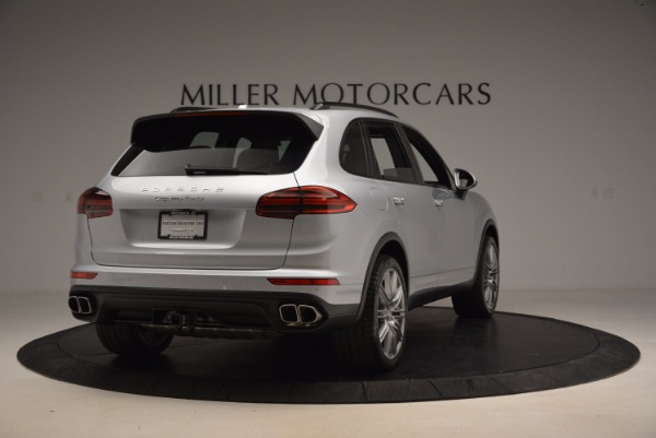 Used 2016 Porsche Cayenne Turbo for sale Sold at Rolls-Royce Motor Cars Greenwich in Greenwich CT 06830 7