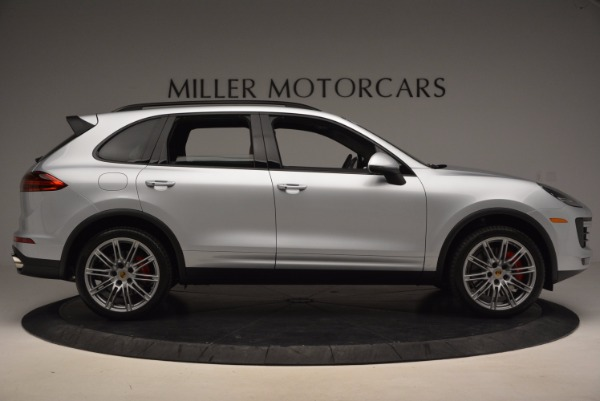 Used 2016 Porsche Cayenne Turbo for sale Sold at Rolls-Royce Motor Cars Greenwich in Greenwich CT 06830 9