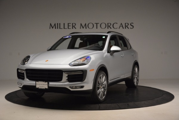 Used 2016 Porsche Cayenne Turbo for sale Sold at Rolls-Royce Motor Cars Greenwich in Greenwich CT 06830 1