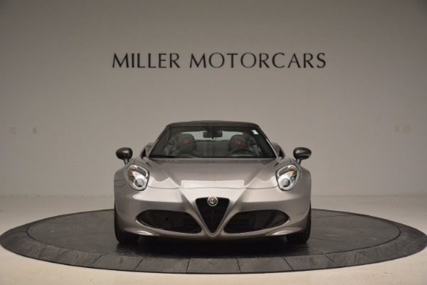 New 2016 Alfa Romeo 4C Spider for sale Sold at Rolls-Royce Motor Cars Greenwich in Greenwich CT 06830 12