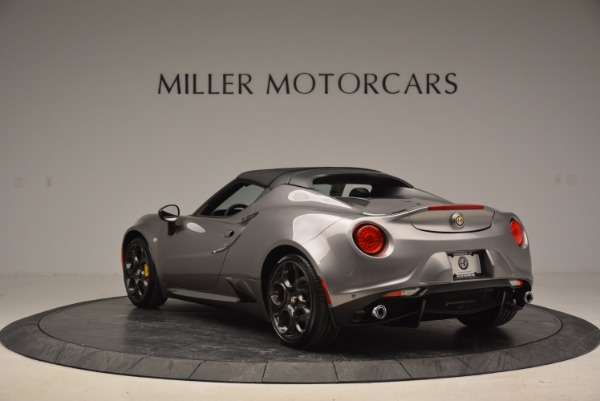 New 2016 Alfa Romeo 4C Spider for sale Sold at Rolls-Royce Motor Cars Greenwich in Greenwich CT 06830 17