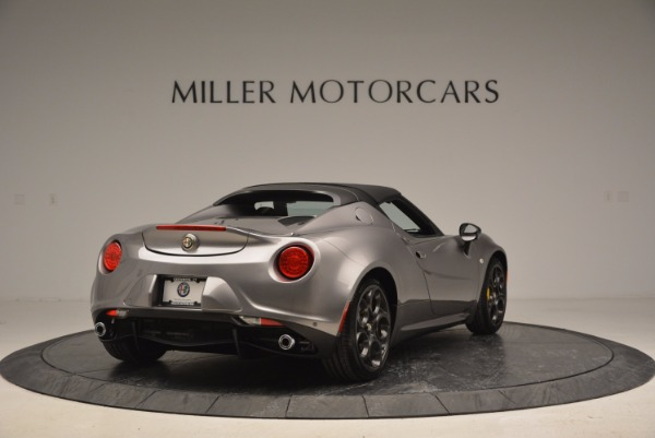 New 2016 Alfa Romeo 4C Spider for sale Sold at Rolls-Royce Motor Cars Greenwich in Greenwich CT 06830 19