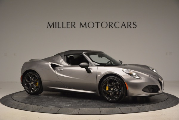 New 2016 Alfa Romeo 4C Spider for sale Sold at Rolls-Royce Motor Cars Greenwich in Greenwich CT 06830 22