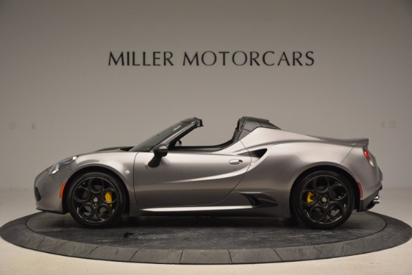 New 2016 Alfa Romeo 4C Spider for sale Sold at Rolls-Royce Motor Cars Greenwich in Greenwich CT 06830 3