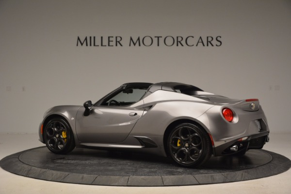 New 2016 Alfa Romeo 4C Spider for sale Sold at Rolls-Royce Motor Cars Greenwich in Greenwich CT 06830 4