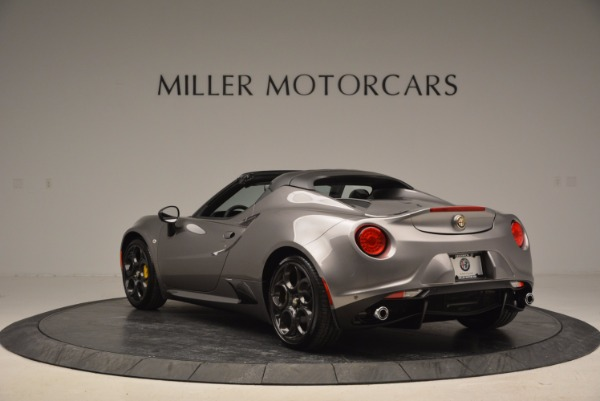 New 2016 Alfa Romeo 4C Spider for sale Sold at Rolls-Royce Motor Cars Greenwich in Greenwich CT 06830 5