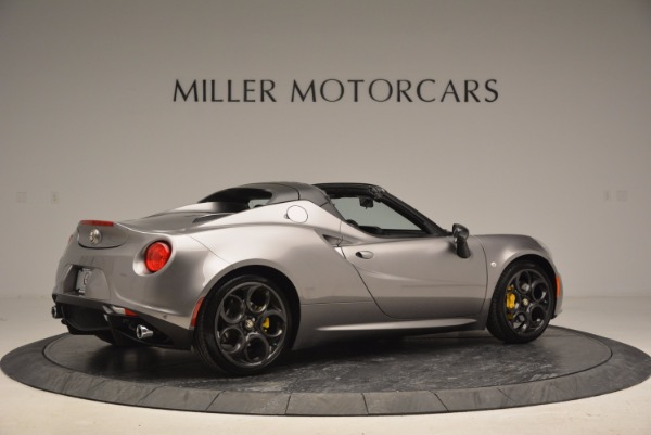 New 2016 Alfa Romeo 4C Spider for sale Sold at Rolls-Royce Motor Cars Greenwich in Greenwich CT 06830 8