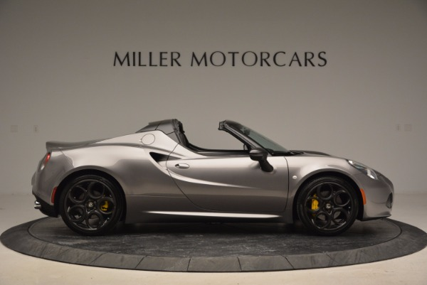 New 2016 Alfa Romeo 4C Spider for sale Sold at Rolls-Royce Motor Cars Greenwich in Greenwich CT 06830 9