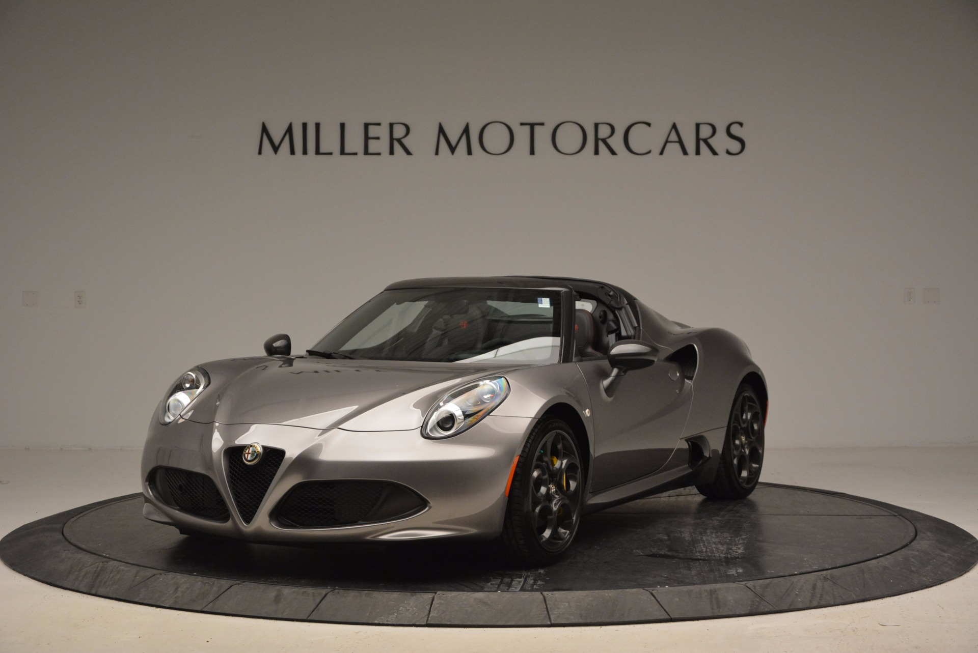 New 2016 Alfa Romeo 4C Spider for sale Sold at Rolls-Royce Motor Cars Greenwich in Greenwich CT 06830 1