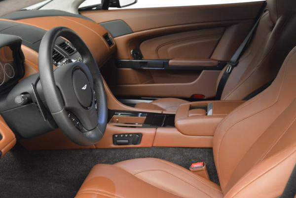Used 2015 Aston Martin V12 Vantage S for sale Sold at Rolls-Royce Motor Cars Greenwich in Greenwich CT 06830 13