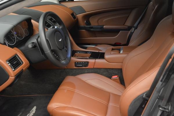 Used 2015 Aston Martin V12 Vantage S for sale Sold at Rolls-Royce Motor Cars Greenwich in Greenwich CT 06830 14