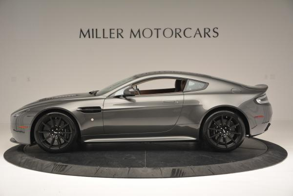 Used 2015 Aston Martin V12 Vantage S for sale Sold at Rolls-Royce Motor Cars Greenwich in Greenwich CT 06830 3