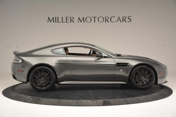 Used 2015 Aston Martin V12 Vantage S for sale Sold at Rolls-Royce Motor Cars Greenwich in Greenwich CT 06830 9
