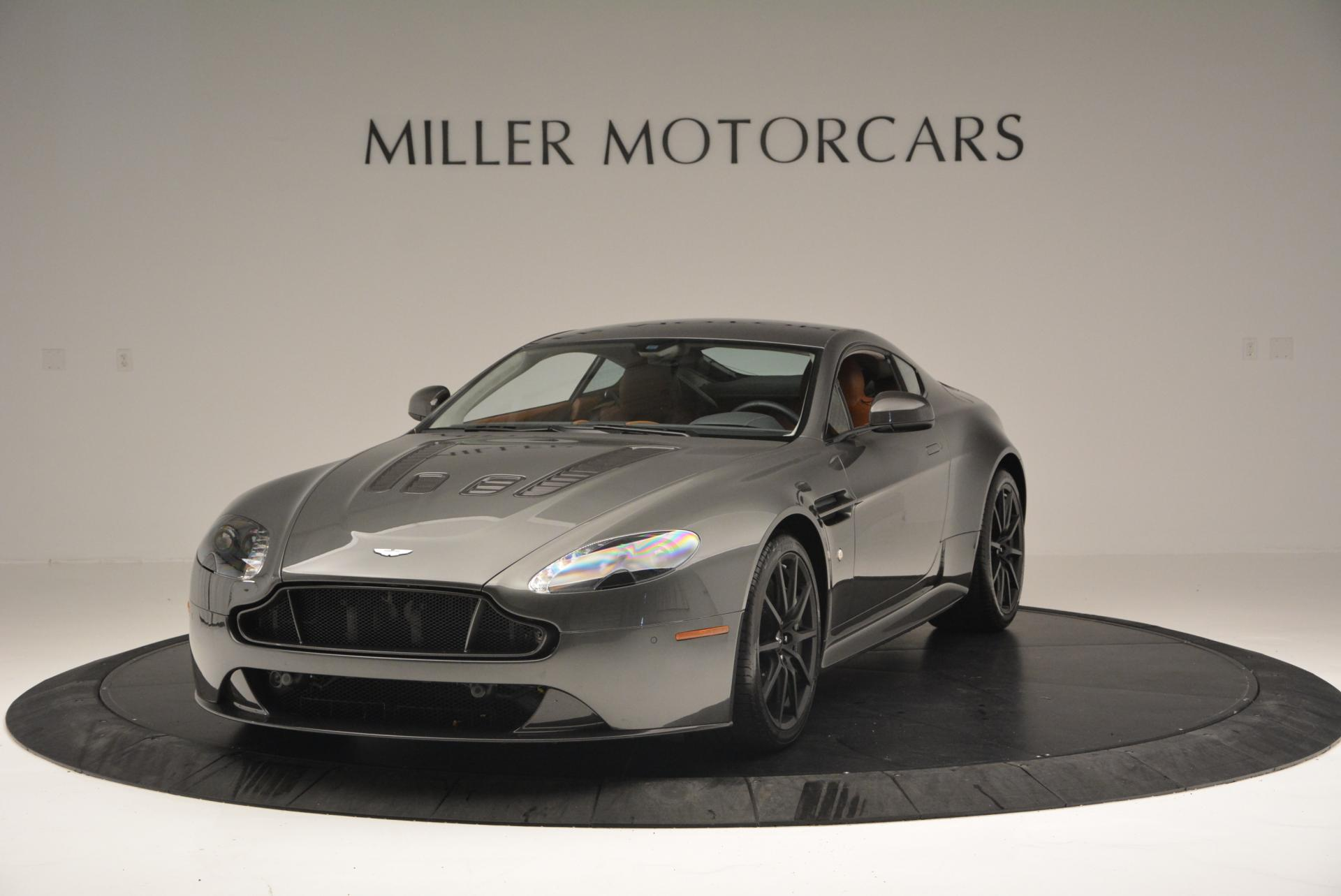 Used 2015 Aston Martin V12 Vantage S for sale Sold at Rolls-Royce Motor Cars Greenwich in Greenwich CT 06830 1