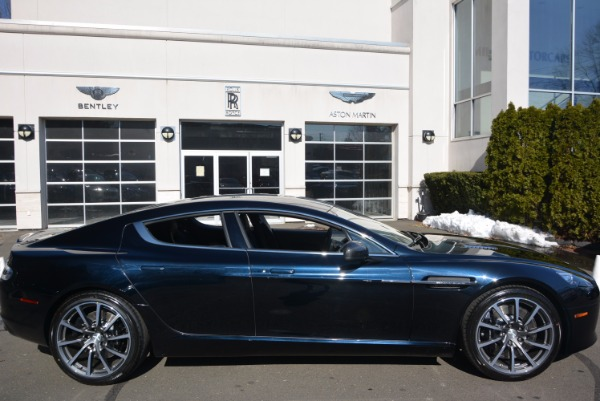 New 2017 Aston Martin Rapide S Shadow Edition for sale Sold at Rolls-Royce Motor Cars Greenwich in Greenwich CT 06830 26
