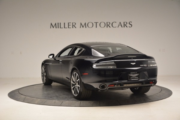 New 2017 Aston Martin Rapide S Shadow Edition for sale Sold at Rolls-Royce Motor Cars Greenwich in Greenwich CT 06830 5