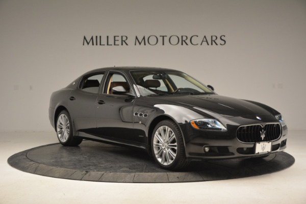 Used 2013 Maserati Quattroporte S for sale Sold at Rolls-Royce Motor Cars Greenwich in Greenwich CT 06830 11