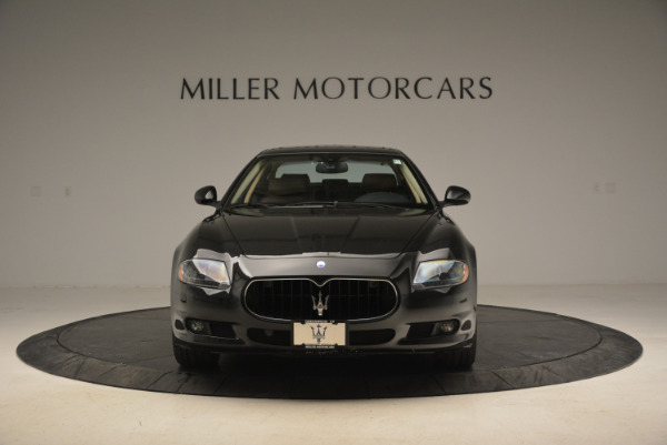 Used 2013 Maserati Quattroporte S for sale Sold at Rolls-Royce Motor Cars Greenwich in Greenwich CT 06830 12