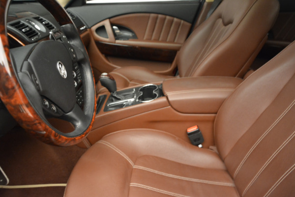 Used 2013 Maserati Quattroporte S for sale Sold at Rolls-Royce Motor Cars Greenwich in Greenwich CT 06830 14