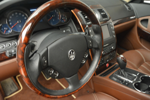 Used 2013 Maserati Quattroporte S for sale Sold at Rolls-Royce Motor Cars Greenwich in Greenwich CT 06830 16