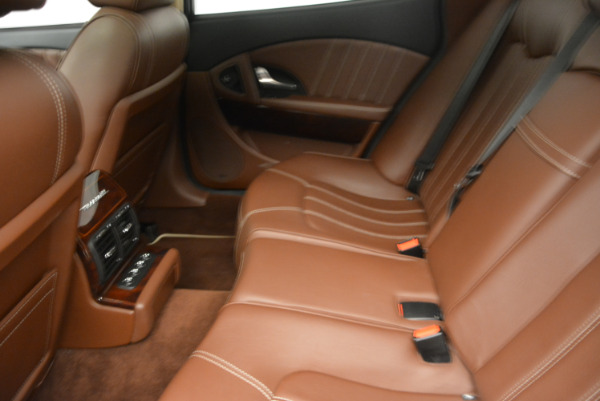 Used 2013 Maserati Quattroporte S for sale Sold at Rolls-Royce Motor Cars Greenwich in Greenwich CT 06830 18
