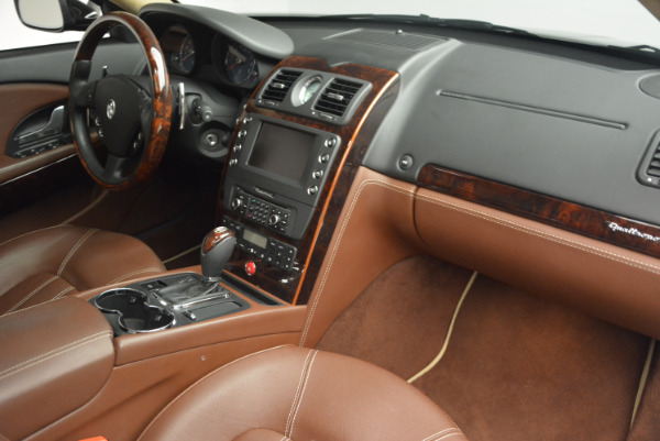 Used 2013 Maserati Quattroporte S for sale Sold at Rolls-Royce Motor Cars Greenwich in Greenwich CT 06830 22