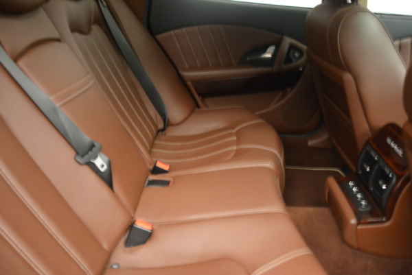Used 2013 Maserati Quattroporte S for sale Sold at Rolls-Royce Motor Cars Greenwich in Greenwich CT 06830 24