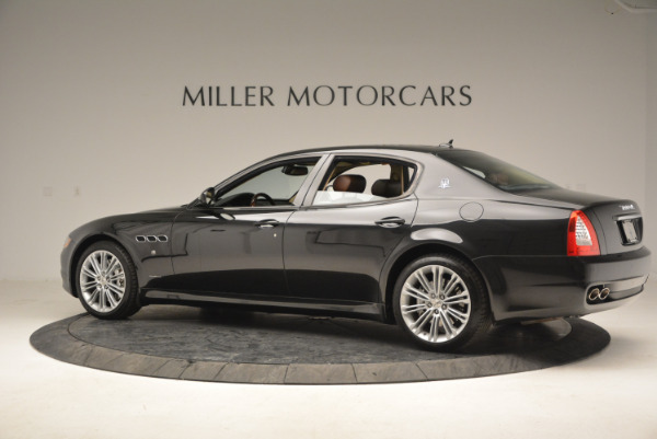 Used 2013 Maserati Quattroporte S for sale Sold at Rolls-Royce Motor Cars Greenwich in Greenwich CT 06830 4