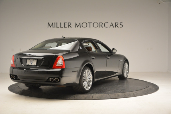 Used 2013 Maserati Quattroporte S for sale Sold at Rolls-Royce Motor Cars Greenwich in Greenwich CT 06830 7