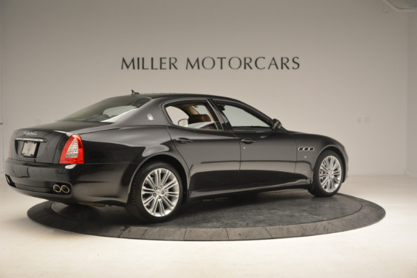 Used 2013 Maserati Quattroporte S for sale Sold at Rolls-Royce Motor Cars Greenwich in Greenwich CT 06830 8
