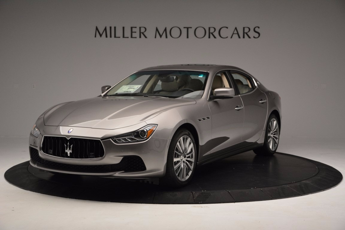 New 2017 Maserati Ghibli S Q4 EX-Loaner for sale Sold at Rolls-Royce Motor Cars Greenwich in Greenwich CT 06830 1