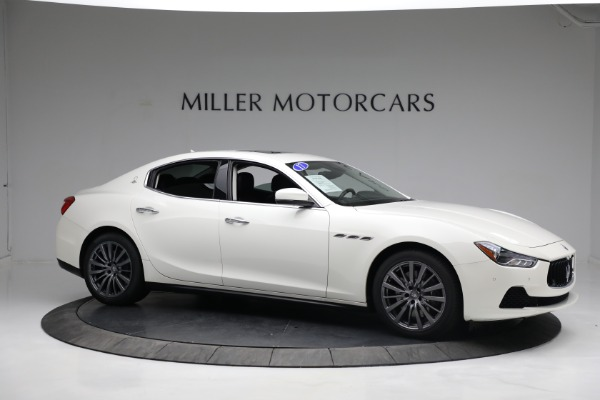 New 2017 Maserati Ghibli S Q4 EX-Loaner for sale Sold at Rolls-Royce Motor Cars Greenwich in Greenwich CT 06830 10