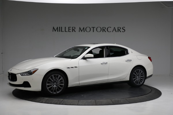 New 2017 Maserati Ghibli S Q4 EX-Loaner for sale Sold at Rolls-Royce Motor Cars Greenwich in Greenwich CT 06830 2