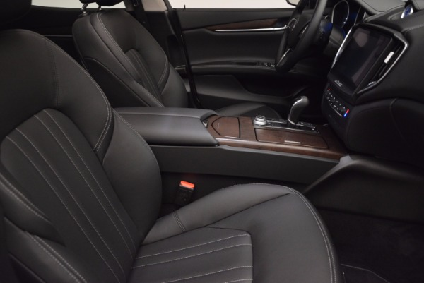 New 2017 Maserati Ghibli SQ4 for sale Sold at Rolls-Royce Motor Cars Greenwich in Greenwich CT 06830 21
